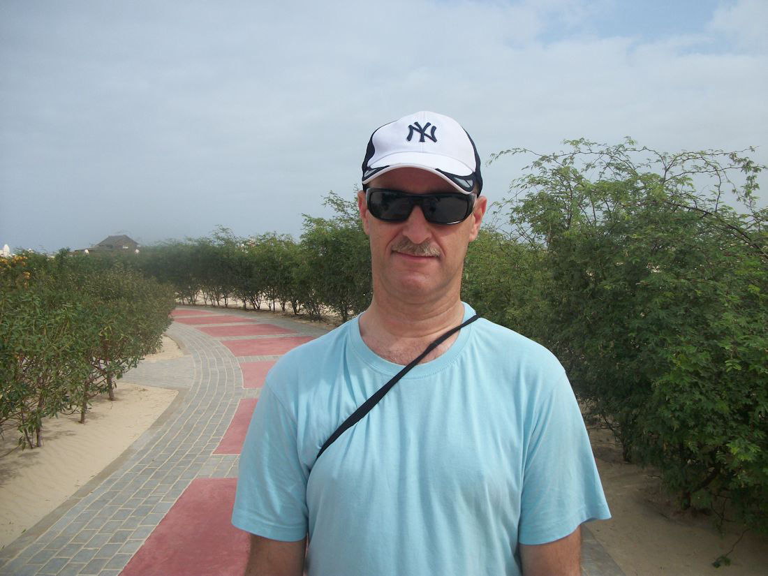 andy in Cape Verde